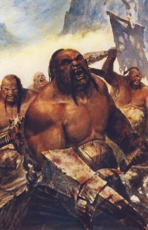 Warhammer Ogre Bull