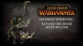 Introducing... Savage Orc Boar Boyz Big'Uns