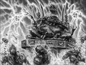 Warhammer Lizardmen Slann Warfare