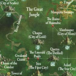 Warhammer Chaqua Map
