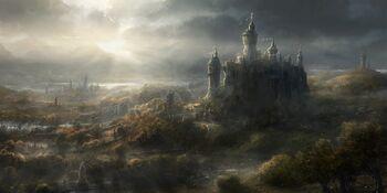 Bretonnian Landscape Total War
