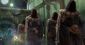 Warhammer Cultist of Morr