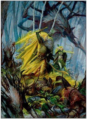 Weakest Warhammer Wood Elf Army