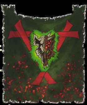 Warhammer Clan Pestilen Banner