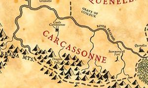 Carcassonne map