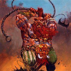 Doomseeker Dwarfs Storm of Chaos 6th Edition Adrian Smith illustration