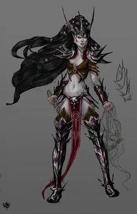 Witch Elf concept art