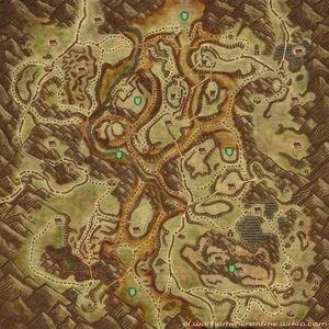 MAP BlackCrag