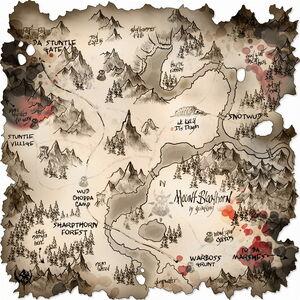 MAP MtBloodhorn