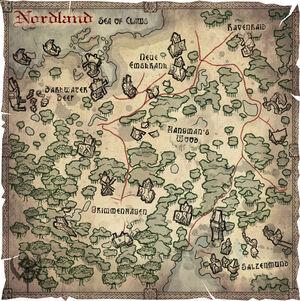 MAP Nordland