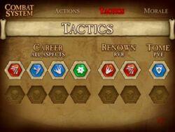 Tactic slots