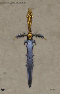 Witch Elf dagger concept
