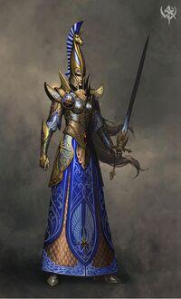 Swordmaster concept art