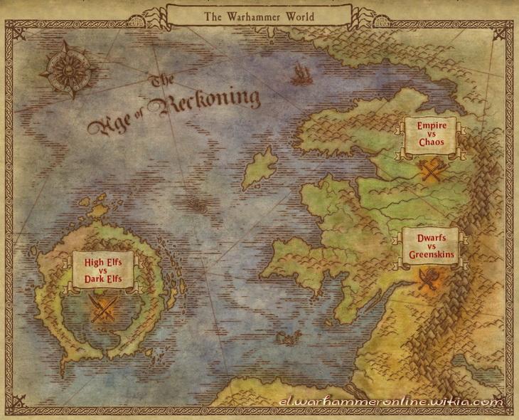 Χάρτες Warhammer line
