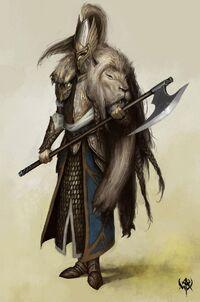 White Lion concept art