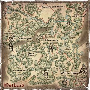 MAP Ostland