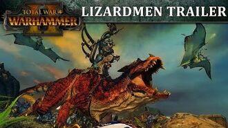 Total War WARHAMMER 2 – Lizardmen In-Engine Trailer PEGI