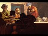 Posępna Wieczerza pędzla Girardiego del Vorsa