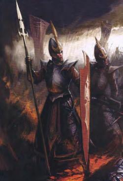 Warhammer Dark Elf Warriors