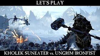 Total War WARHAMMER - Kholek Suneater Let's Play ESRB