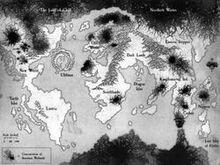Mapa Zwierzoludzi