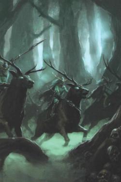 Warhammer Wood Elves Wild Hunt