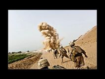 Real Soldiers in Battle