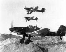 Junkers Ju-87 Sturzkampfflugzeug