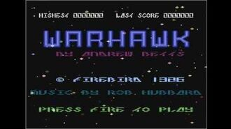 RetroTone Atari 800XL - Warhawk (1986)