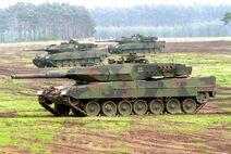 German Leopard 2A5 Panzer