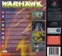 Warhawk 1995 back cover