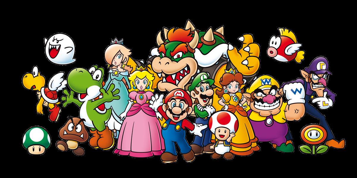 Image Mario characters group