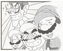 Mario Party 4koma manga (plumbers)