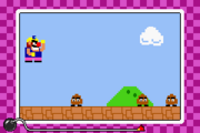 Super Wario Bros Microgame WarioWare Mega Microgames