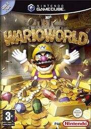 Wario World game cover