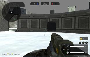 Plasma Gun Firing FP