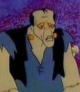 Flintstones Frankenstein Monster