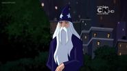 Merlin Justice League Action