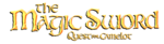 THE MAGIC SWORD QUEST FOR CAMELOT LOGO SHADOWED