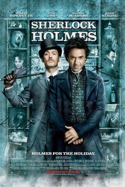 Sherlock holmes 2009 poster