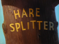 Hare Splitter Title Card
