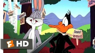 Looney Tunes Back in Action (2003) - Bugs Bunny vs. Daffy Duck Scene (1 9) Movieclips
