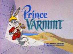 Prince Varmint Title Card