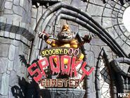 Scooby-Doo Spooky Coaster Sign