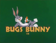 Knighty Knight Bugs Bugs Bunny Intro