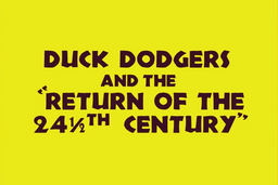 Duck Dodgers 2 Title Card