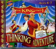 The King and I Animated Thinking Adventure - Game Cover
