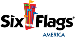 Six Flags America logo clean