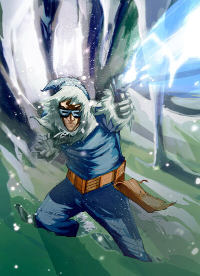 Captain cold by ink4884