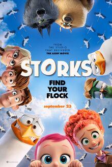 Storks (film) poster 2
